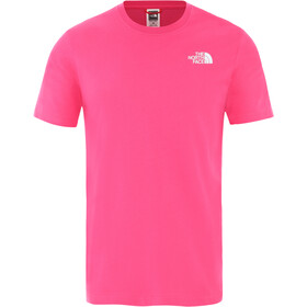 The North Face Redbox Cel Kurzarm T-Shirt Herren mr. pink